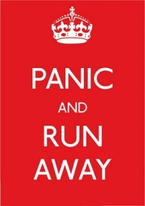 panic-and-run-away