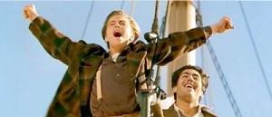 Titanic (1997) Leonardo diCaprio and Danny Nucci